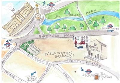 street map of tudor london bridge